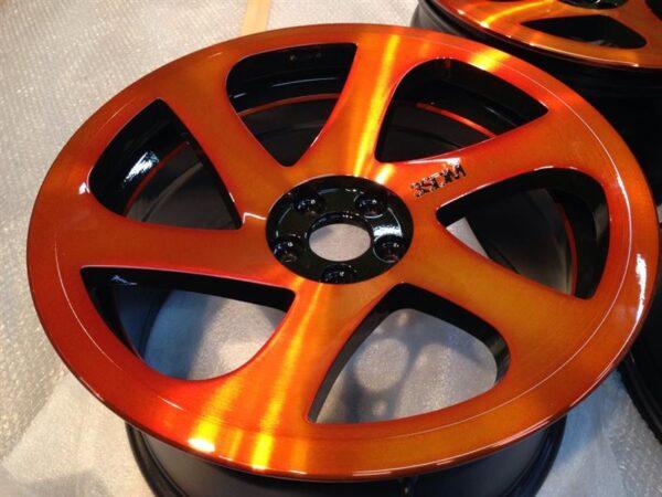 3SDM ブラッシュド&キャンデーオレンジパウダーコート