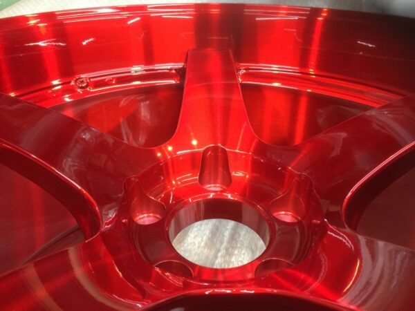 ADVAN Racing Brushed Candy Red